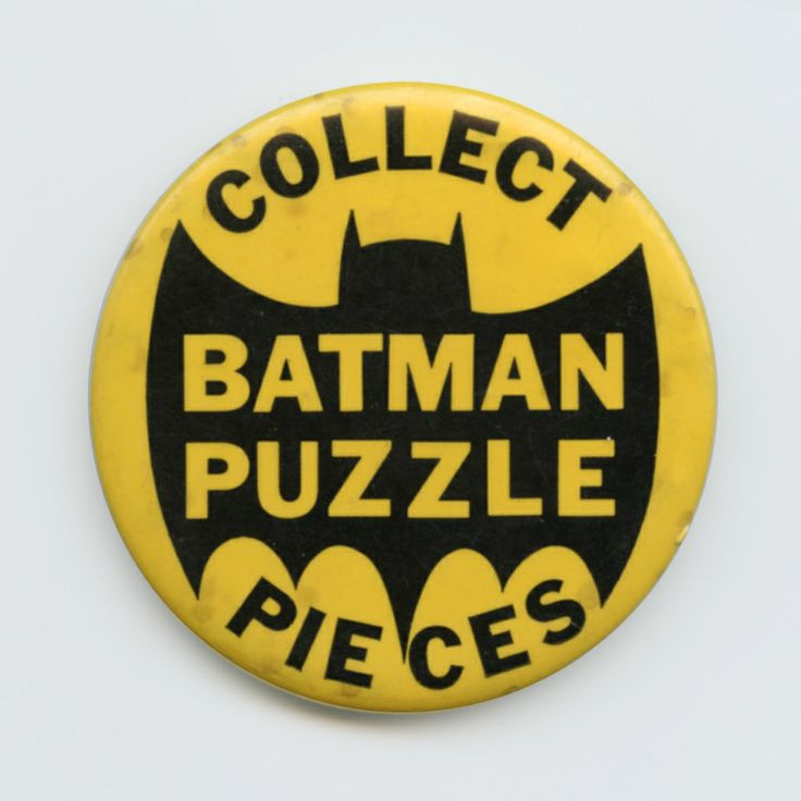 Batman Puzzles Button