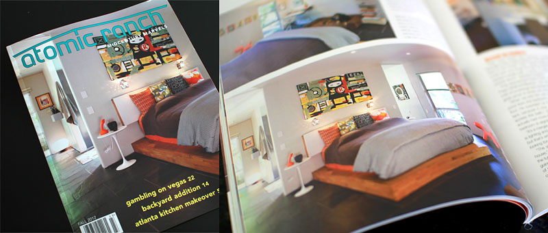 Eeek! was featured in Atomic Ranch magazine.
