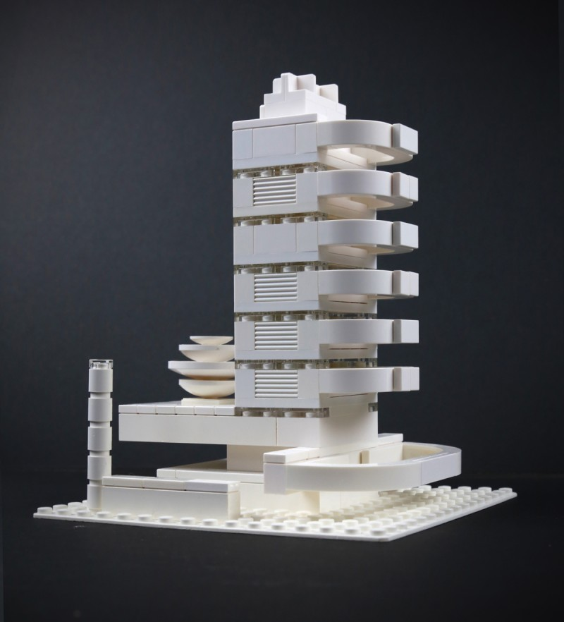 Lego Deco Hotel by Bill O'Neil